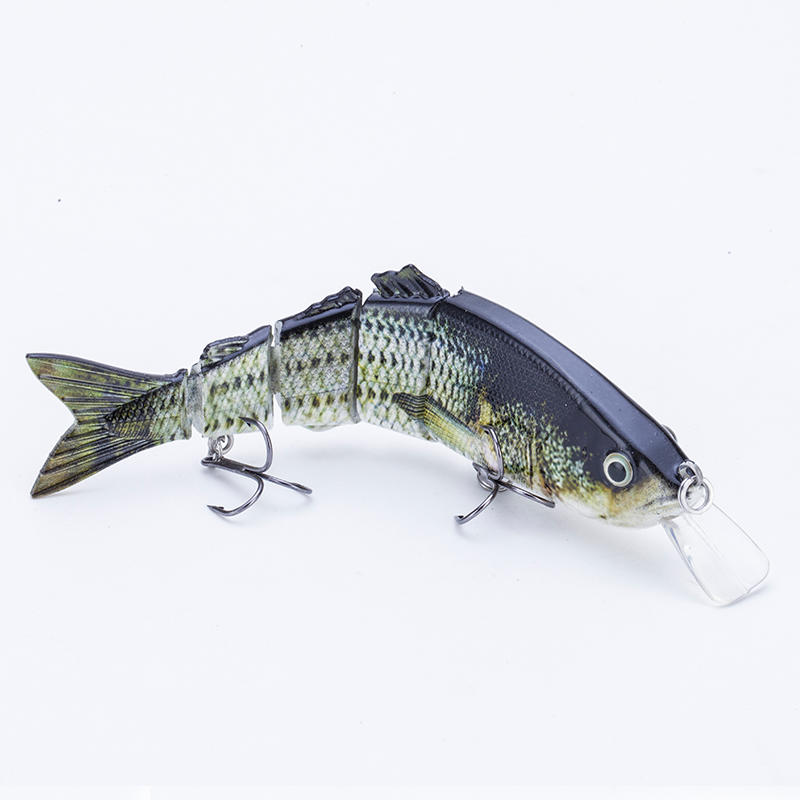 FISHING LURE 5INCH 5 JOINTED SWIM BAIT - YL06A-M