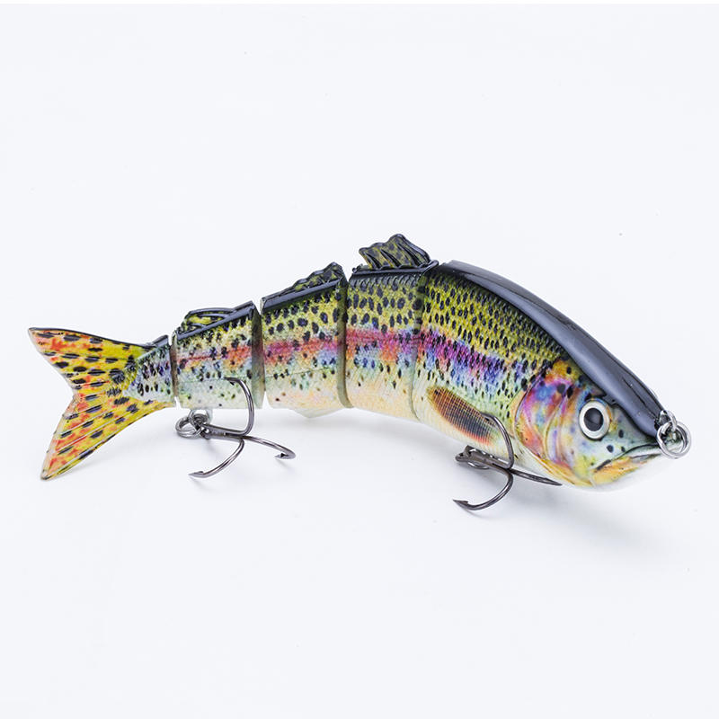 FISHING LURE 8.6INCH 5 JOINTED SWIM BAIT - YL06C