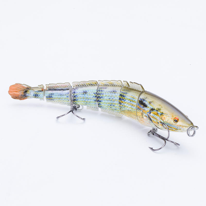 FISHING LURE 6INCH 6 EEL LURE JOINTED SWIM BAIT - YL27