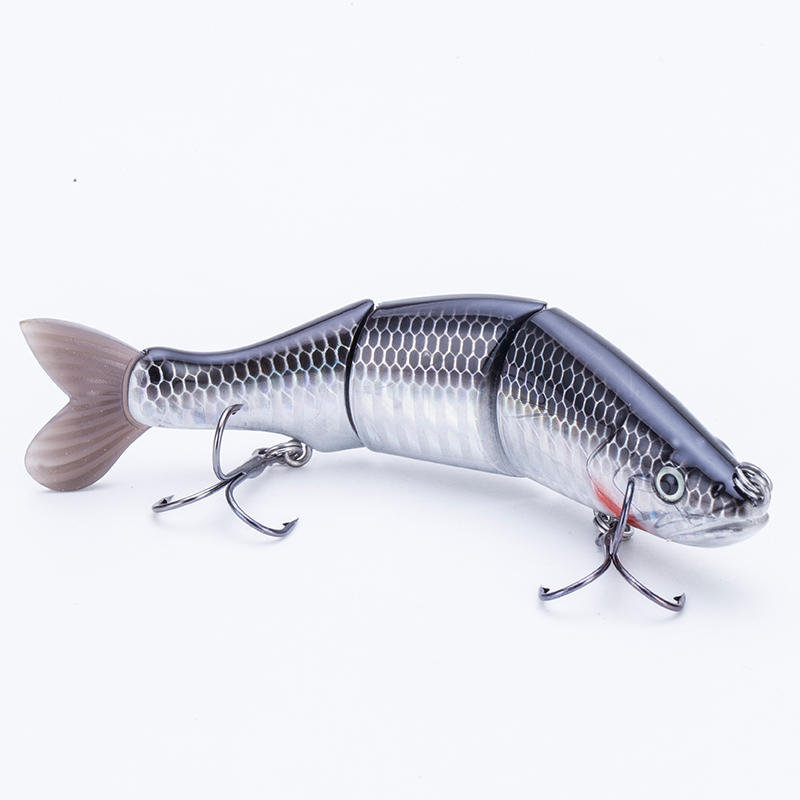 FISHING LURE 6.6INCH 3 JOINTED SOFT TAIL