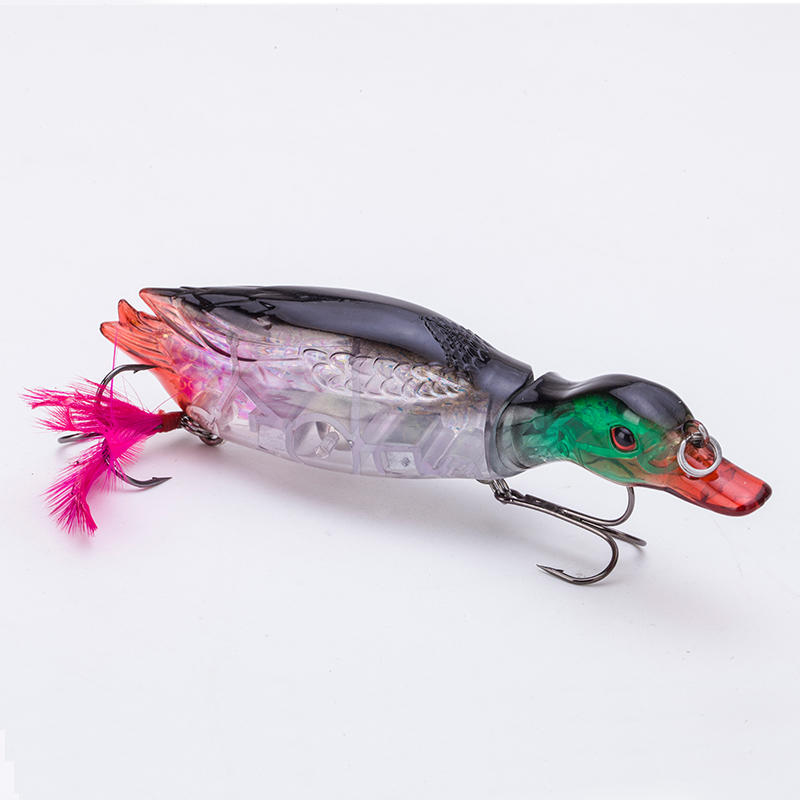 FISHING LURE 5INCH 2 JOINTED DUCK SWIM BAIT - DUCK 1