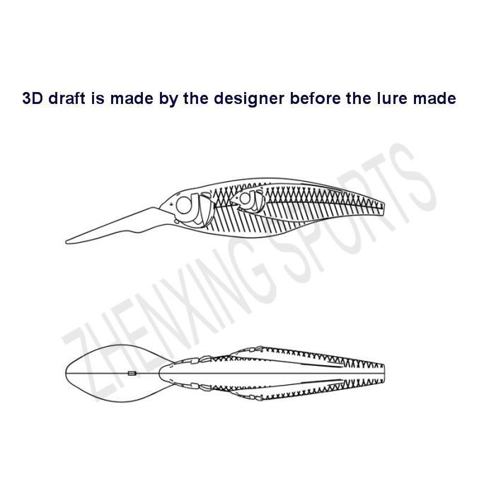hot-sale bass fishing lures plastic handmade-1
