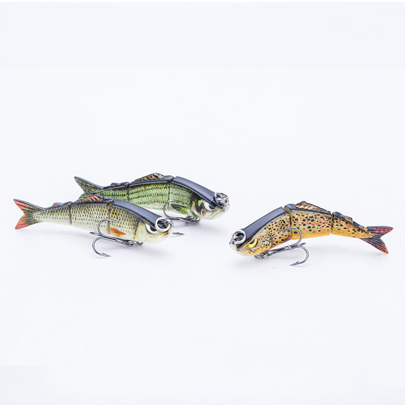 Factory wholesale mini multi jointed swim bait saltwater fishing lure---YL03A