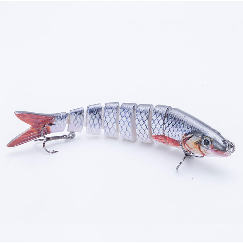 Factory 5.4 inch trout fishing lures trout swim bait for bass----YL05C