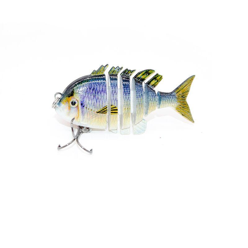 Factory tilapia multi 6 jointed lures life-like fishing lures --- YL10A