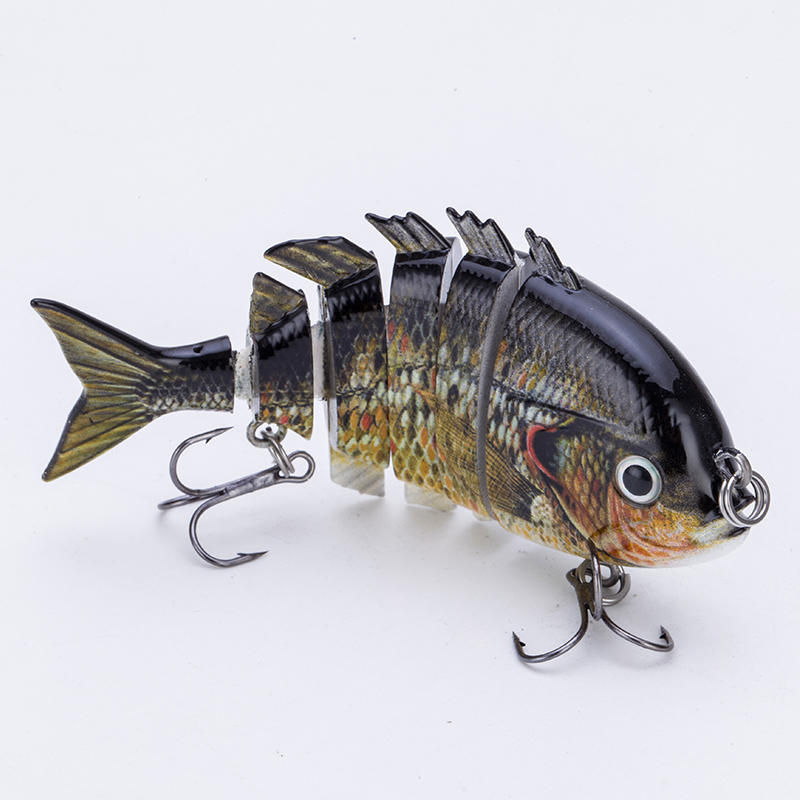 Factory 3.2 inch multi jointed tilapia fishing swim bait--- YL10B