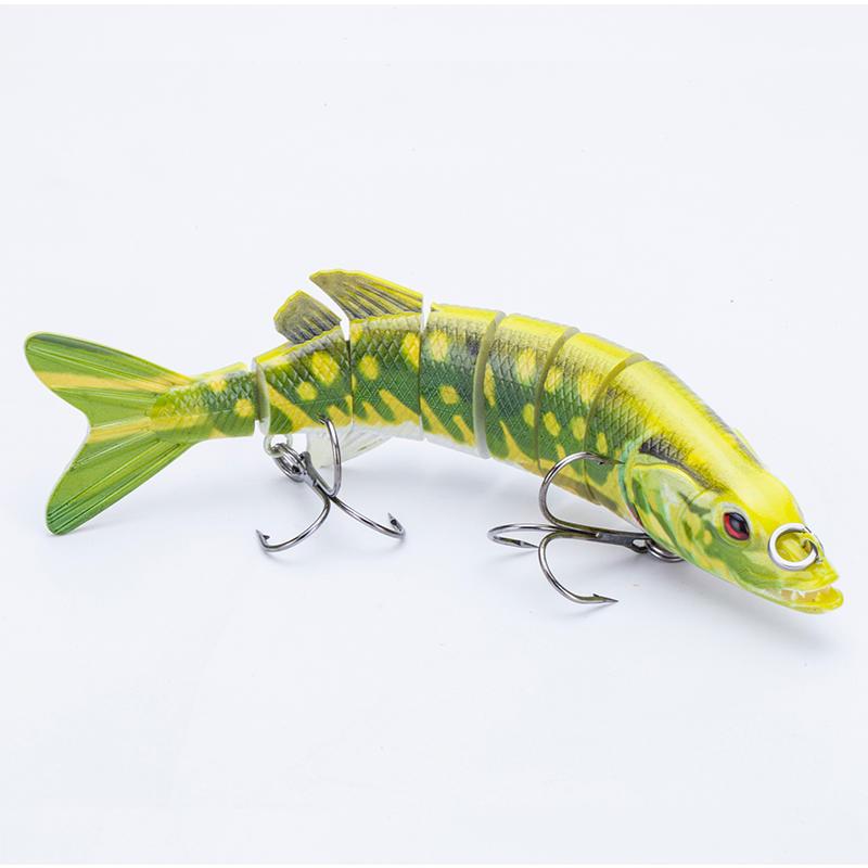 Factory handmade best quality 7inch 59g pike fishing lure swim bait ---YL15E