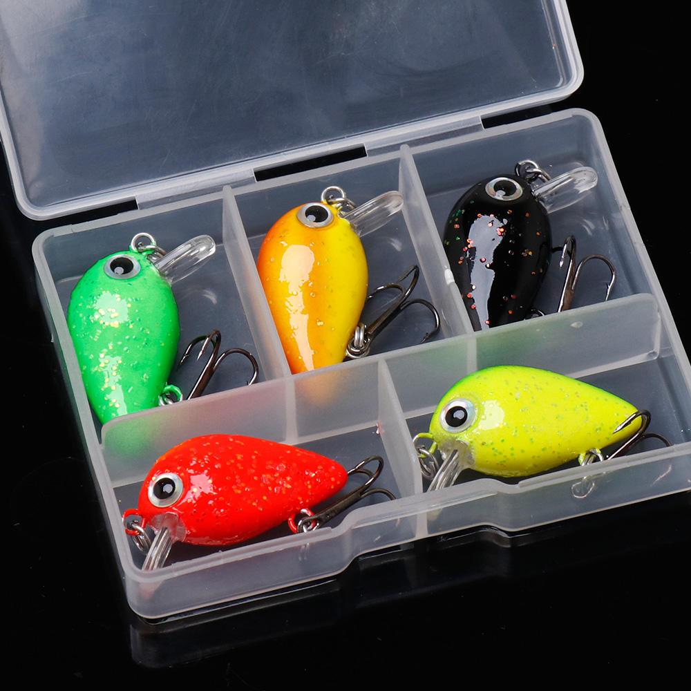 mini crank bait plastic fishing lures