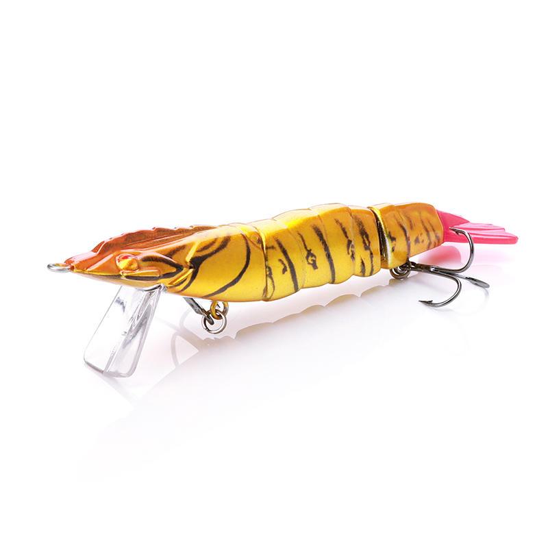 14cm 17.9g Multi-Jointed Shimp Fishing Lure