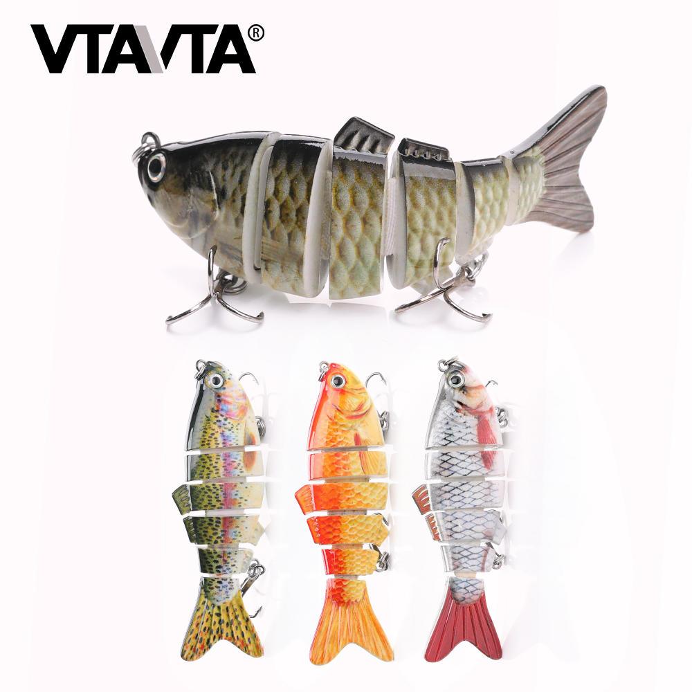 10cm 17.5g realistic hard 6 segmented fish lure