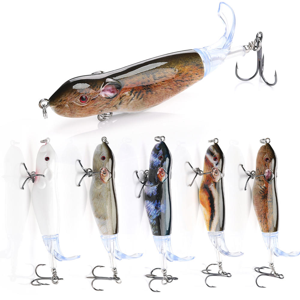 Whopper Plopper Rat Fishing Lures