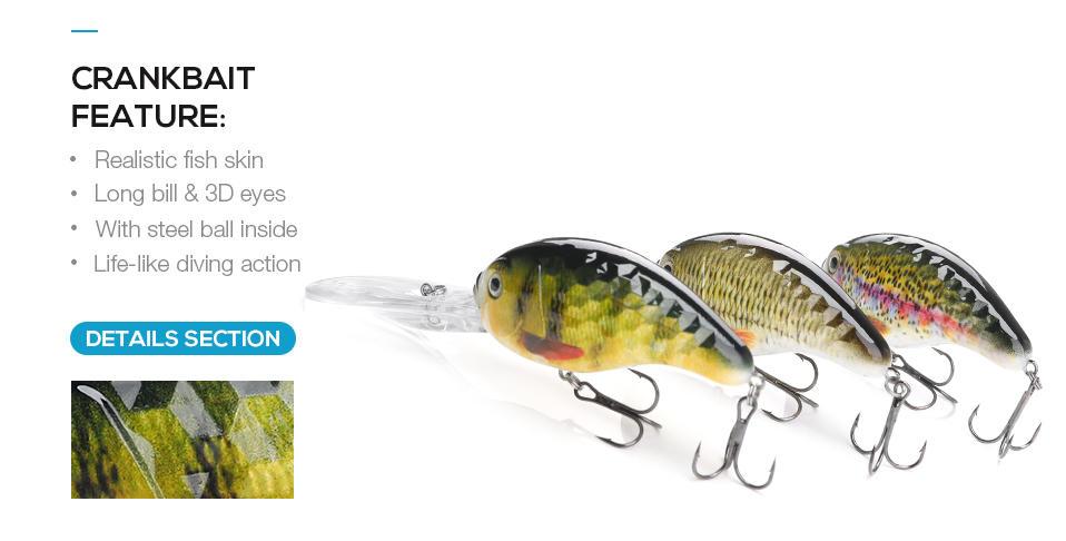hot-sale bass bait abs bulk order