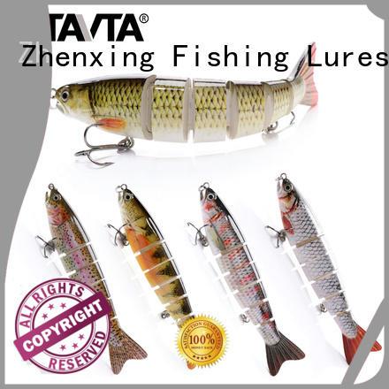 Zhenxing Fishing Lures bass fishing lures with fiber tail