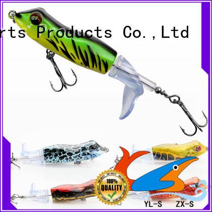 popular cheap fishing lures plastic handmade large strength