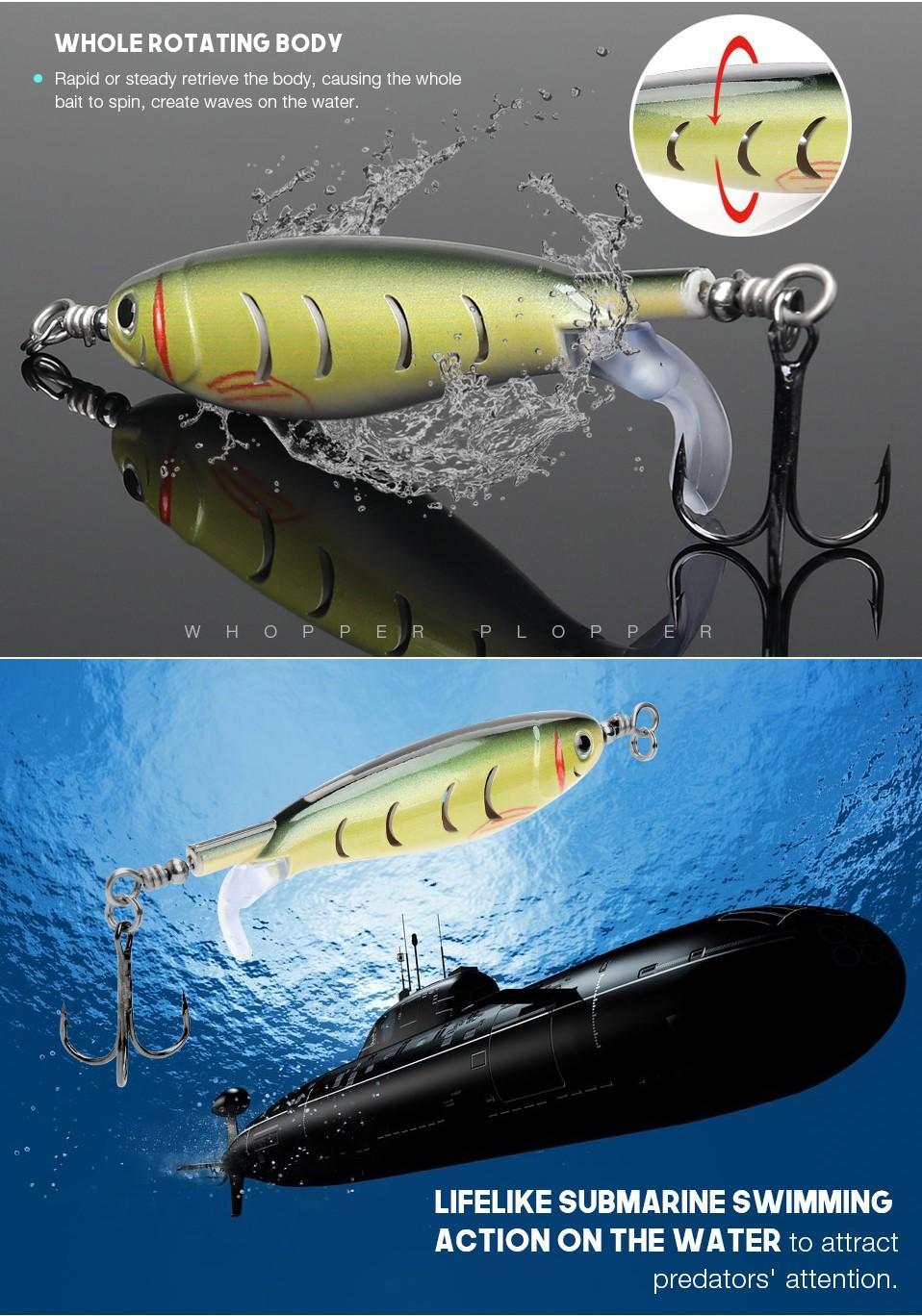 Zhenxing Fishing Lures popular spinnerbait floating high-quality-3